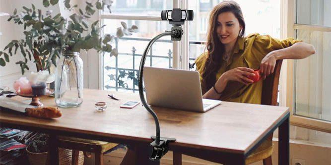 webcam model from home